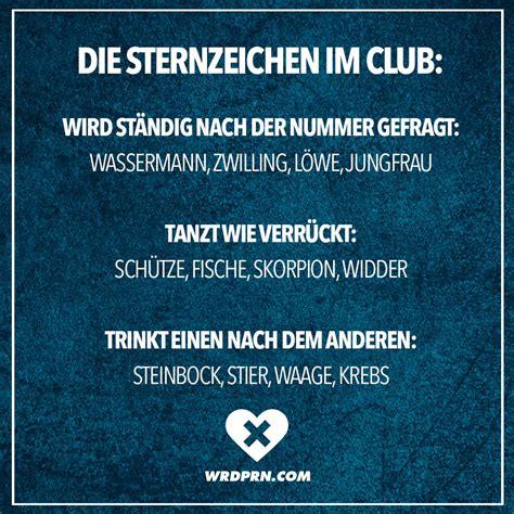 Wassermann Und Steinbockfrau by Die Sternzeichen Im Club Wird St 228 Ndig Nach Der Nummer