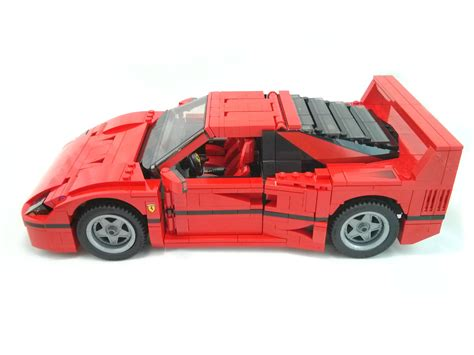 lego f40 review 10248 f40 rebrickable build with lego