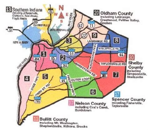 courier journal neighborhood section louisville real estate blog how is louisville divided up