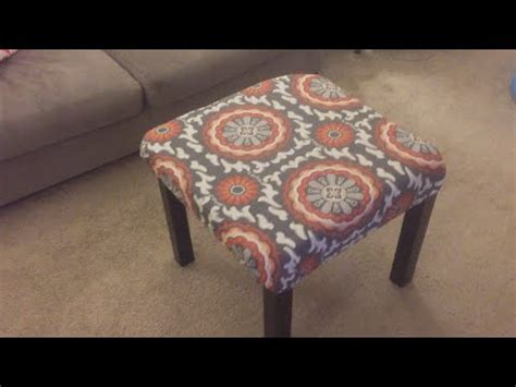 how to reupholster a pillow top ottoman upholstery how to reupholster a pillowtop ottoman doovi