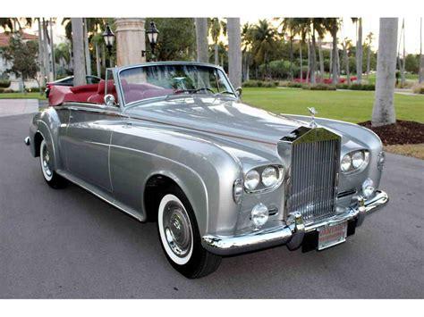 1963 rolls royce silver cloud iii 1963 rolls royce silver cloud iii for sale classiccars