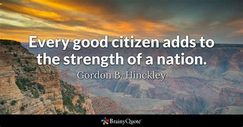 gordon  hinckley  good citizen adds
