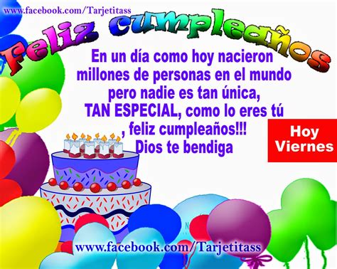 tarjetas de feliz cumpleanos hoy es un dia muy especial hermanita feliz cumplea 209 os hoy viernes es el d 237 a de tus cumplea 241 os