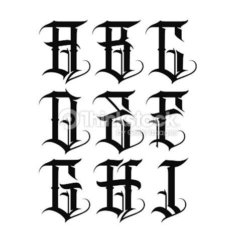 tattoo font gangster gangster letters pesquisa google letters pinterest