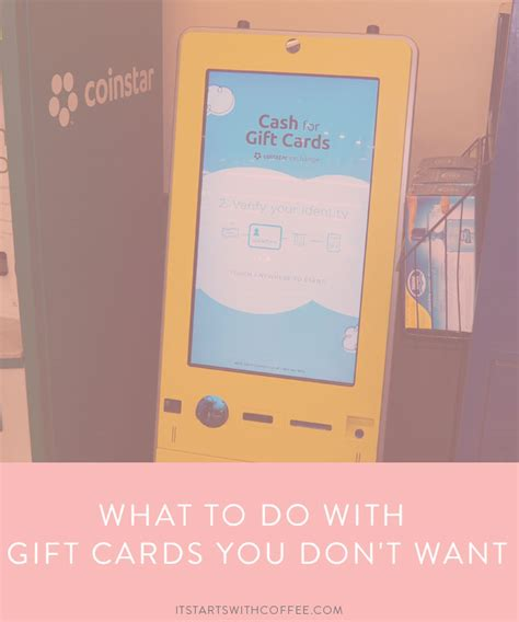 What To Do With Gift Cards - what to do with gift cards you don t want it starts with coffee a lifestyle