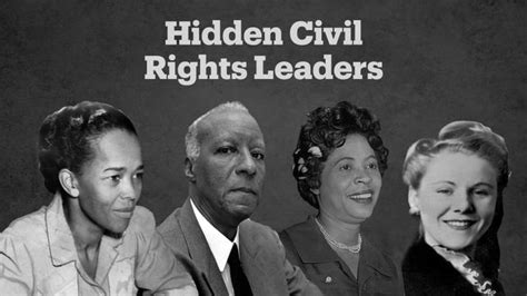Civil Rights Leaders Back by Lesser Known Leaders Of The Us Civil Rights Movement Trt
