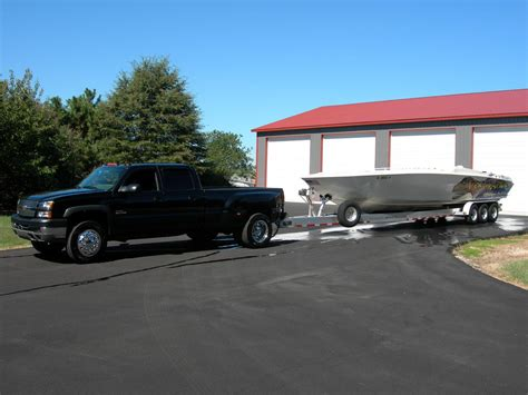 boat lift truck whos towing larger boat with lifted truck page 3