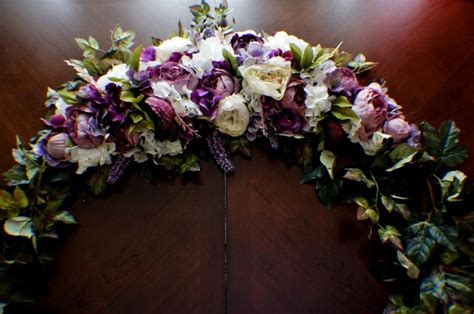 wedding arch flower swag wedding arch swag wedding garland large wedding swag