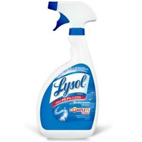 lysol bathroom cleaner reviews viewpoints