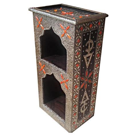 meuble marocain design d 233 cor 233 d os incrust 233 s et de m 233 tal