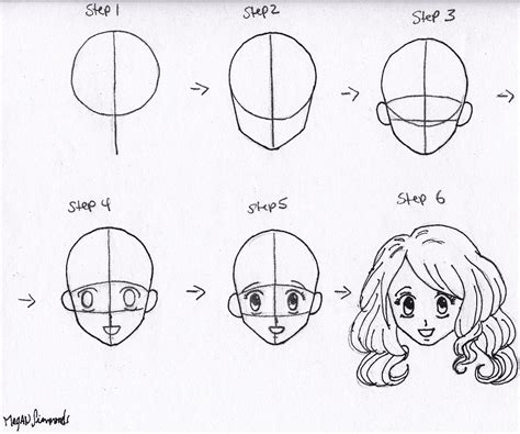 how to draw anime step by step lets draw something drawing anime step by step