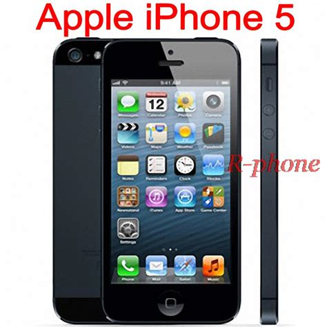 Hp Iphone 5 16gb unlocked original apple iphone 5 rom 16gb 32gb 64gb
