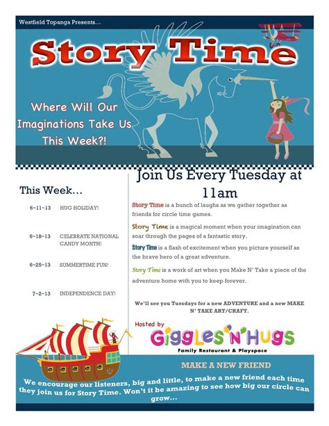 so you think you can story time tuesdays at giggles