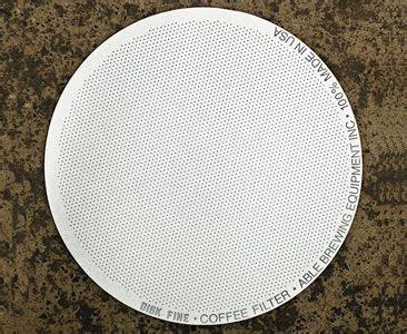 Sgrb Barista 2 0 Metal Filter For Aeropress able disk reusable metal aeropress filter wishlist