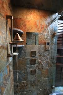slate tile bathroom ideas slate tile home pinterest