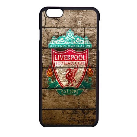 Casing Iphone 6 Liverpool liverpool fc logo on wood iphone 6s liverpool fc liverpool and iphone 6 cases