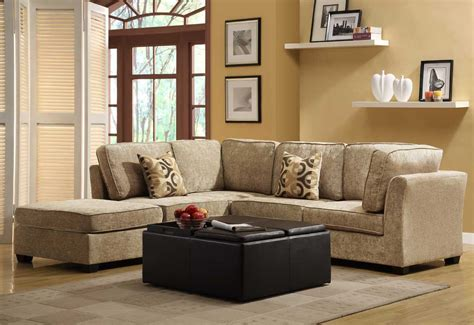 Beige Sectional Sofas Homelegance Burke Sectional Sofa Set C Brown Beige Chenille U9709cn Sect C At Homelement