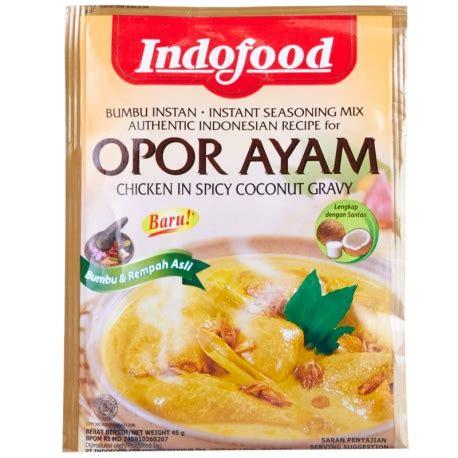 cara membuat opor ayam dengan bumbu indofood indofood bumbu instan opor ayam 45g medanmart