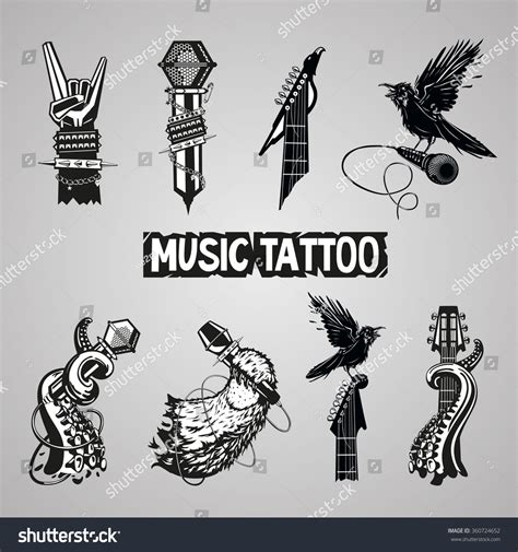 rock music tattoo designs rock singer pictures to pin on tattooskid