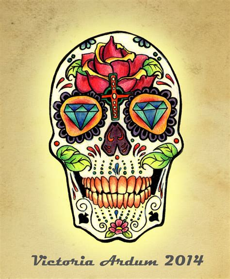 calaca mexicana tattoo design by victoriadeardum on deviantart