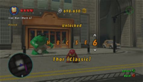 how to enter cheat codes in lego: marvel superheroes (with
