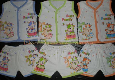 Setelan Baju Kaos Kutung Bayi Anak Piteku Lucu Halus Nyaman Hi Friend2 baju bayi laki laki harga murah
