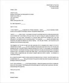 Recommendation Letter Format Letters Of Recommendation For Scholarship 26 Free