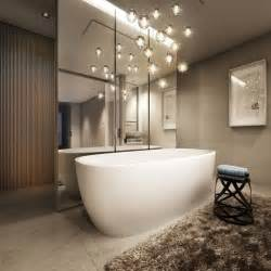 sensational pendant lights in stunning bathrooms that you