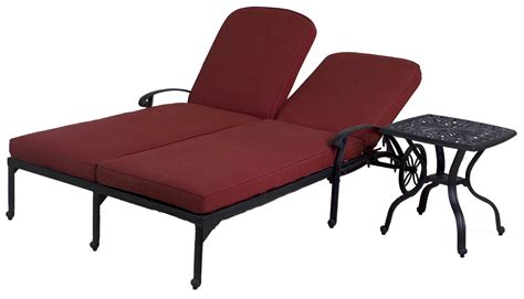 double chaise lounge chair best of backyard catalina double chaise lounge chair