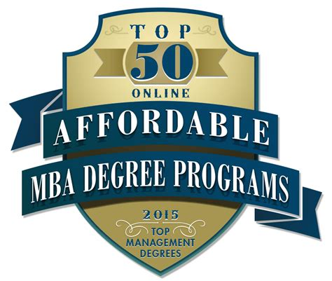 Top 20 Mba Programs 2015 by Top 20 Cheap Master S En Administraci 243 N De