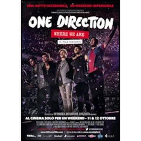 film dokumenter one direction where we are film one direction where we are tickets ticketone