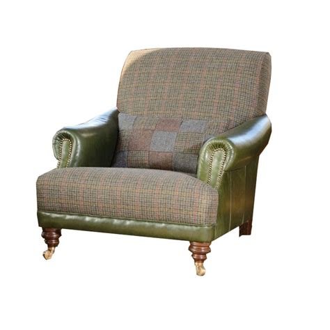 tweed armchairs tetrad taransay gents harris tweed armchair at smiths the rink