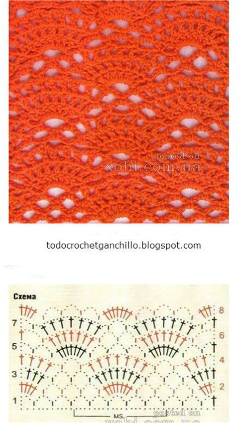 25 puntos calados para tejer al crochet   patrones gratis todo crochet