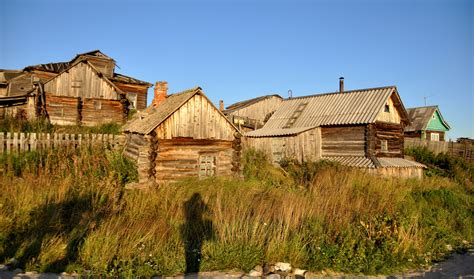 wooden houses of kovda 183 russia travel