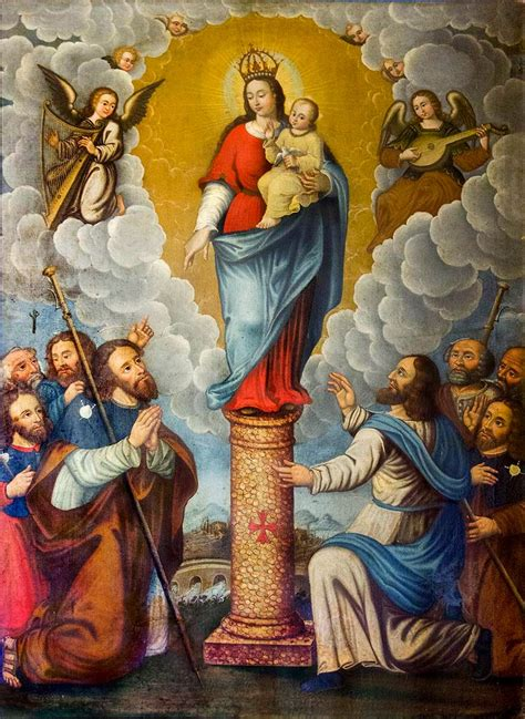 imagenes virgen maria pilar propuesta cronol 243 gica virgen del pilar