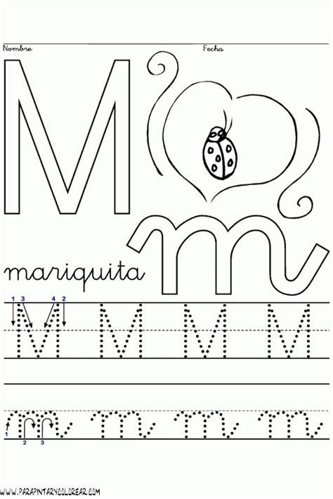 letra m para imagui imagenes para colorear de la consonante m imagui