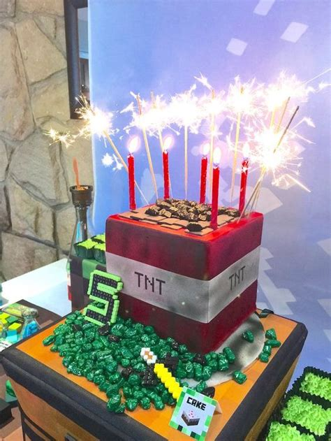 Kids Minecraft Party  Ee  Ideas Ee   Pretty Party