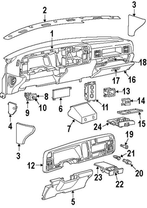Genuine Jeep Parts Mopar Instrument Panel 1996 Dodge Ram 1500 Qf73rd5