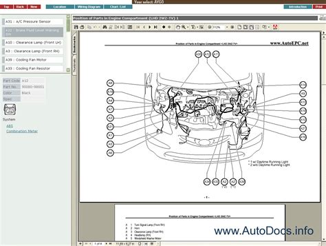 toyota aygo parts diagram toyota auto wiring diagram