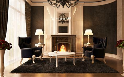 Luxus Wohnzimmer Modern Mit Kamin by Luxus Wohnzimmer 81 Verbl 252 Ffende Interieurs Archzine Net