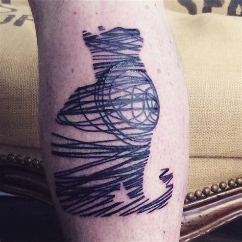 cat tattoo line work random lines blackwork cat tattoo best tattoo ideas gallery