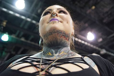 tattoo convention in milwaukee tattoo convention draws inked bodies as living art the