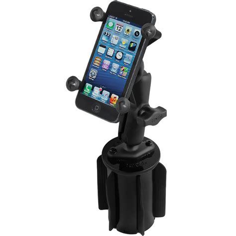 ram mount cell phone holder ram mounts ram a can ii universal cup holder rap 299 3