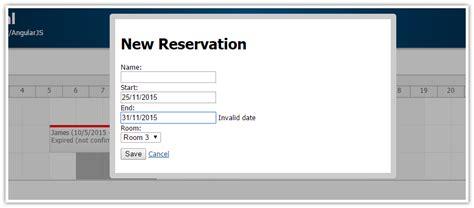 format date using angularjs angularjs hotel room booking tutorial daypilot code