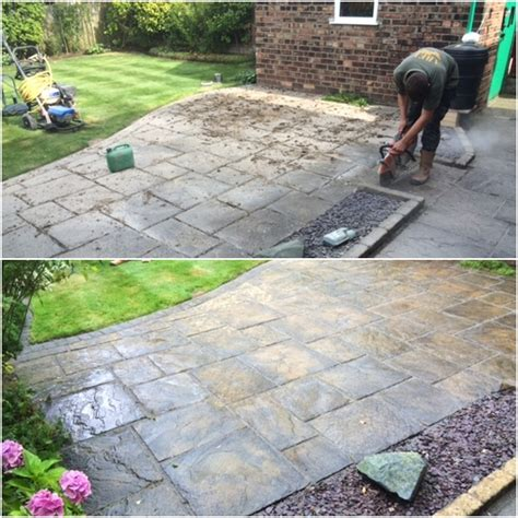 Patio Repointing Patio Cleaning And Repointing Liverpool Abellandscapes Co Uk