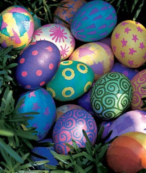 pretty easter eggs decorating easter egg ideas cute love it pinterest