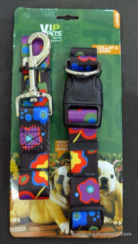 Collar Anjing Tali Leher Tali Penuntun Aksesoris Anjing jual kalung leher tali penuntun vip pets collar leash
