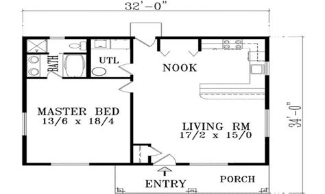Simple One Bedroom House Plans Home Mansion