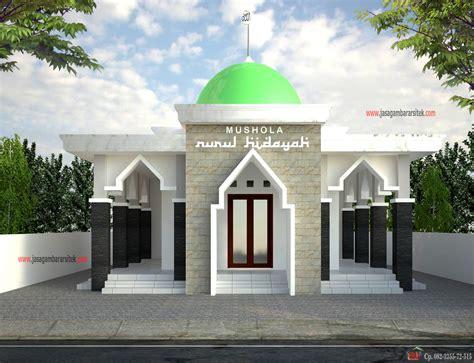 foto desain masjid 31 desain mushola minimalis dalam pilihan denah rumah 2