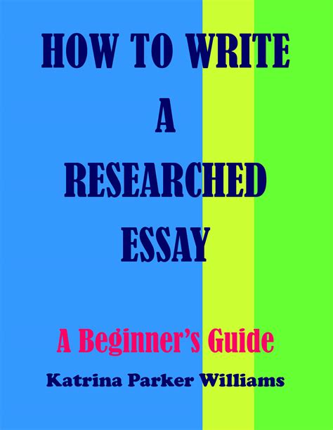 How To Write A Nonfiction Essay by My Books The Musings Of Williams